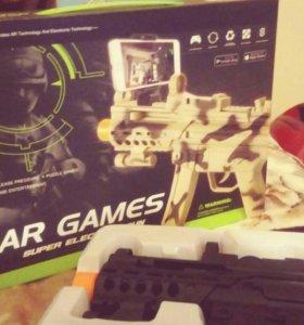 Автомат игрушка виртуальной реальности AR Game Gun