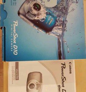 Canon PowerShot D10 подводный фотик