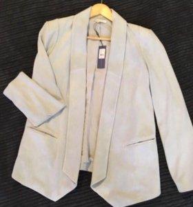 Шикарный замшевый пиджак REBECCAMINKOFF