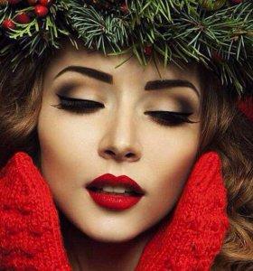 Новогодний образ❗️❗️❗️ макияж+ прическа=1000 р ✨✨✨