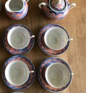 Сервиз чайный старинный Китай