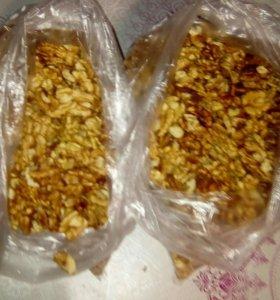 Грецкий орех, фундук