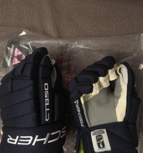 Краги хоккейные Fisher CT850