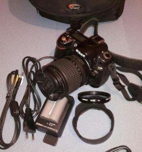 Фотоаппарат Nikon D80 c объективом AF-S NIKKOR