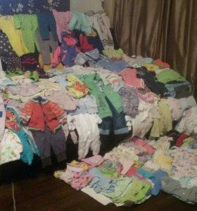 Одежда для мальчика и девочки от 0 до 3-х лет