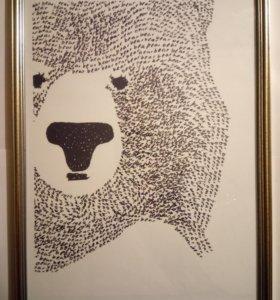 """Картина """"Bear"""""""