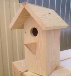 Домик для птиц ( скворечник)
