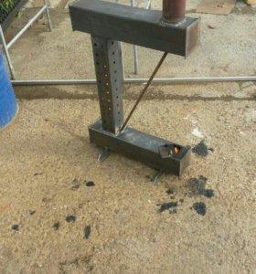Печка на отработаном масле