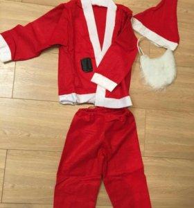Новый!костюм Деда Мороза на взрослого