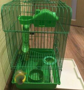 Клетка для хомяка (3 этажа). Дети отдают всего за