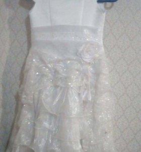 Платье детское 5-6 лет