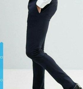 Штаны(брюки) узкие w28(71см) l30(76см)