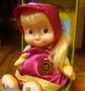 Кукла Маша - повторюшка, игрушка для детей