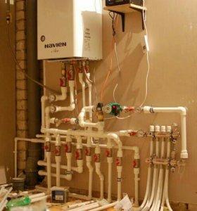 Отопление и газификация под ключ.