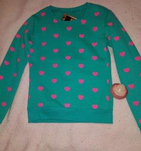 Новая кофта,толстовка,свитер,джемпер!