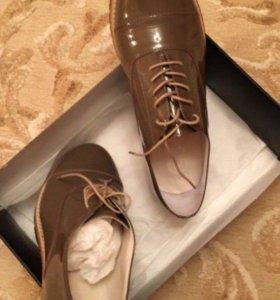 Туфли лаковые (нат.кожа)