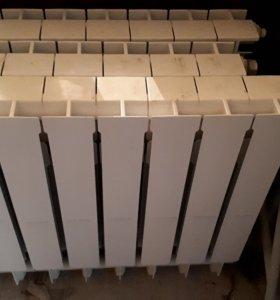 Радиаторы алюминиевые.