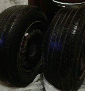 Колеса летние Hankook r15 (4шт)