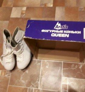 Фигурные коньки Queen 39 размер