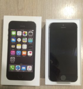iPhone 5s 32gb space gray обмен