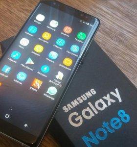 Красивые Samsung Note 8 полный комплект