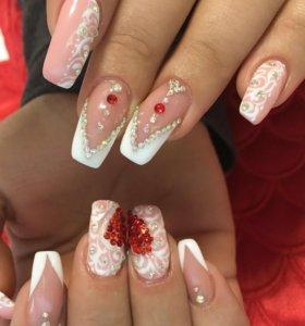 Ногти Свадебные