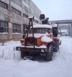 Урал-фискарс с роспуском