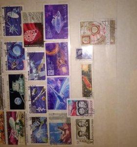 альбом марок (есть не гашеные)