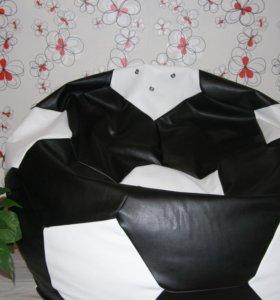 кресло-мешок экокожа, мяч новое