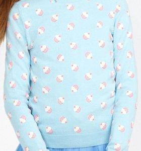 Комплект: джемпер и рубашка