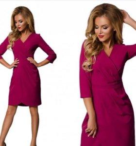 Платье цвета фуксия новое!!