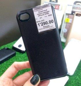 Защитный чехол-аккумулятор iPhone 4/4S