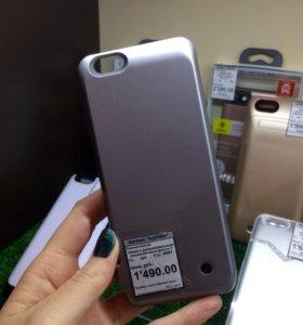 Защитный чехол с аккумулятором iPhone 6/6S