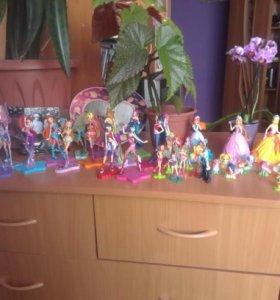 Игрушки коллекция кукол Винкс