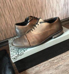 Туфли натуральная кожа BELWEST