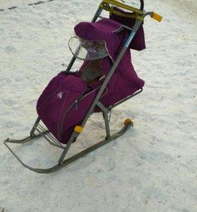 Санки-коляска Nika