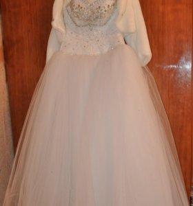 Новое свадебное платье.