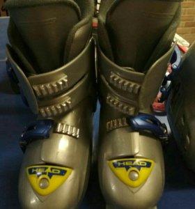 Ботинки горнолыжные 36 размер.