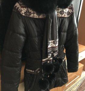 Куртка женская зимняя тёплая