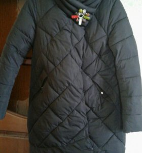Куртка зимняя с капюшоном