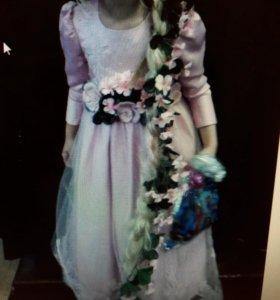 Платье Рапунцыль