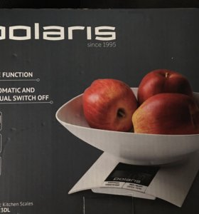 Весы кухонные polaris новые