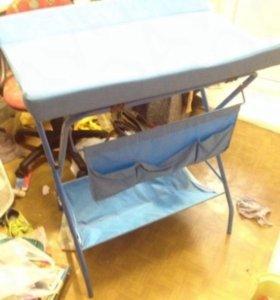 Пеленальный раскладной столик