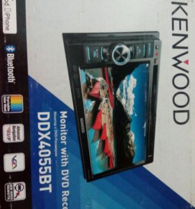 Магнитола kenwood DDX4055BT