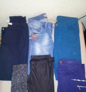 Брюки, джинсы, леггинсы