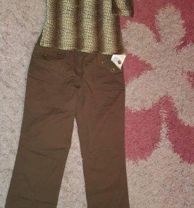 Новые брюки + в подарок водолазка