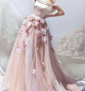 Выпускные, свадебные платья пошив