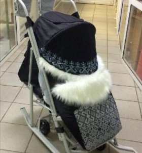 Санки коляска с доставкой