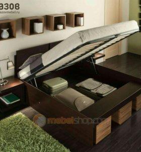 Кровать 160х200 матрас