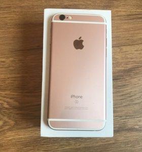iPhone 6 S ( 16 г) розовое золото